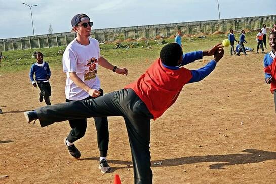 ODI weltwärts Freiwilligendienst Südafrika Sport