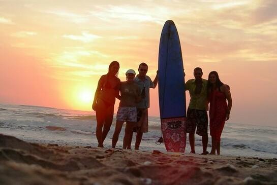 ODI Freiwilligendienst Costa Rica surfen