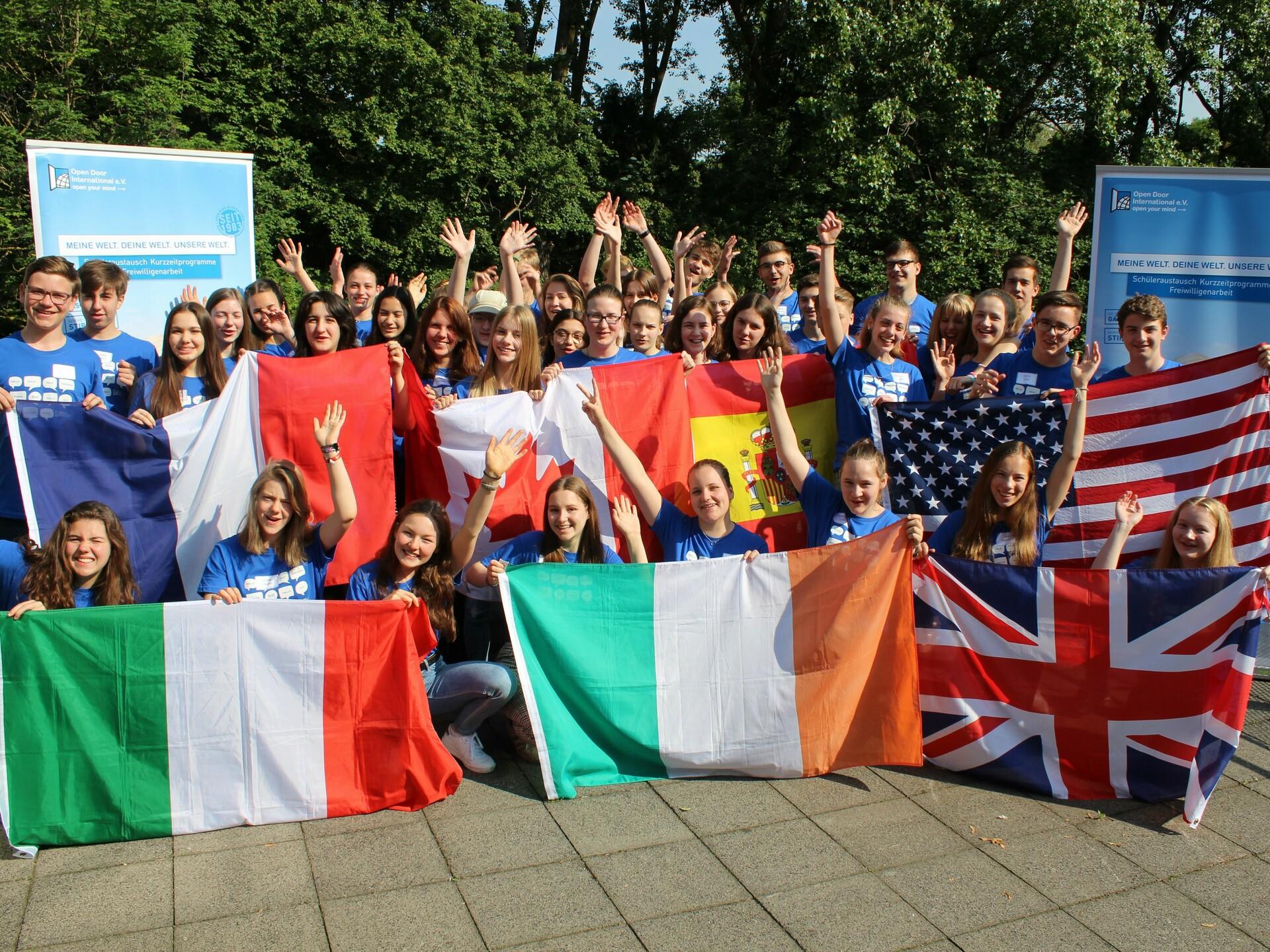 Schüleraustausch ODI Infos für Eltern Ländervielfalt