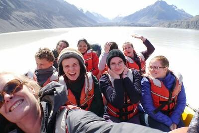Schüleraustausch Neuseeland Südinsel Logan Park High School ODI