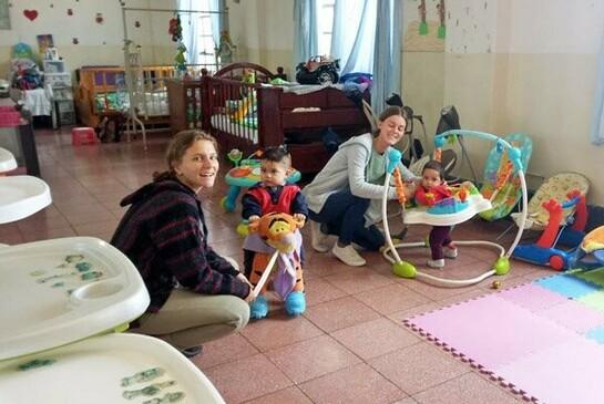 ODI Freiwilligendienst Mexiko Kinder