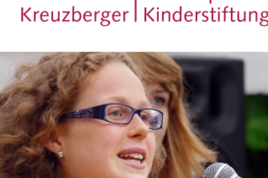 "Flyer der Kreuzberger Kinderstiftung ""Erlebe Europa"""