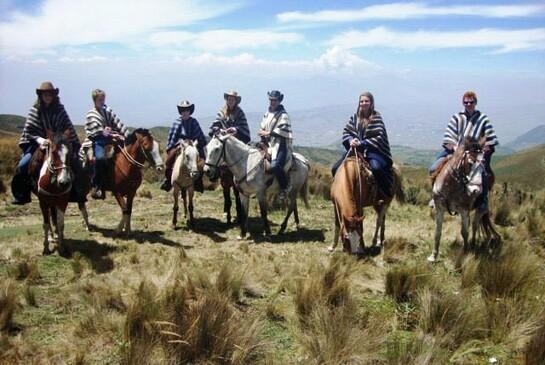 ODI Freiwilligendienst Ecuador reiten