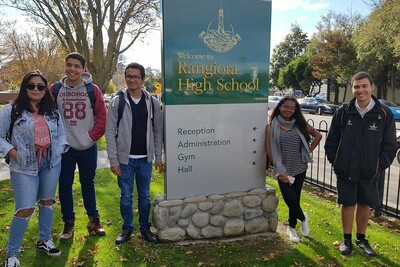Schüleraustausch Neuseeland Südinsel Rangiora High School ODI