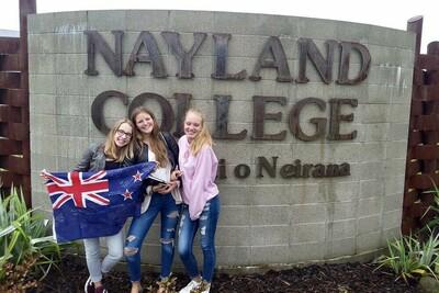 Schüleraustausch Neuseeland Südinsel Nayland College ODI